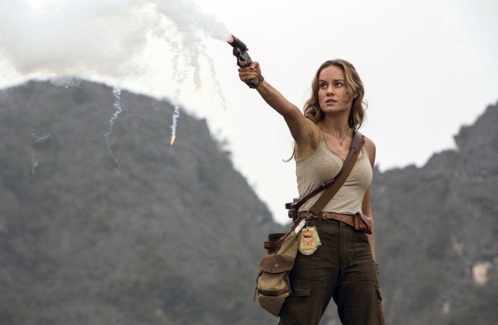 """Nädalavahetuse TOP 7: """"Kong: Pealuu saar"""" võttis siinse kinopubliku enda võimsasse haardesse"""
