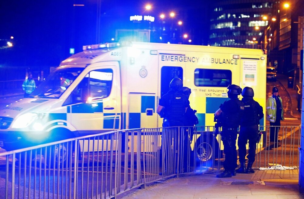 BRITAIN-SECURITY/MANCHESTER