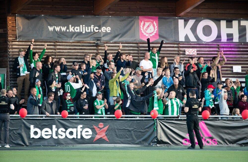 Jalgpall Nõmme Kalju vs FC Flora