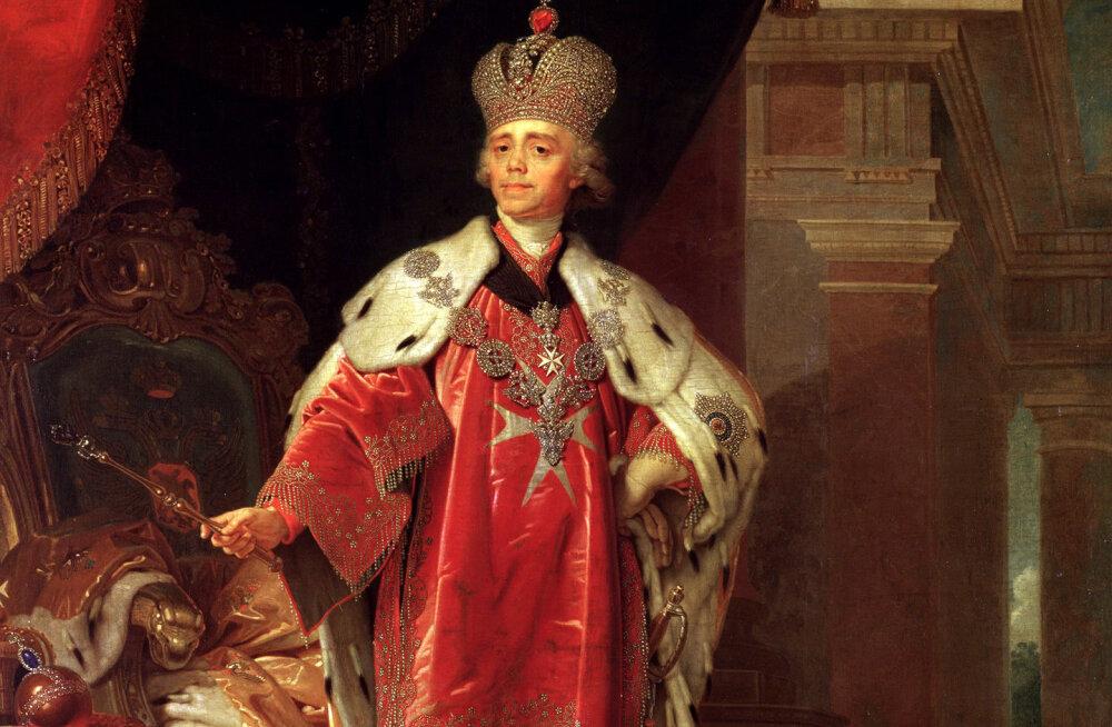 Vene tsaari Paul I hukkamine: nad peksid ja lämmatasid teda raevunult