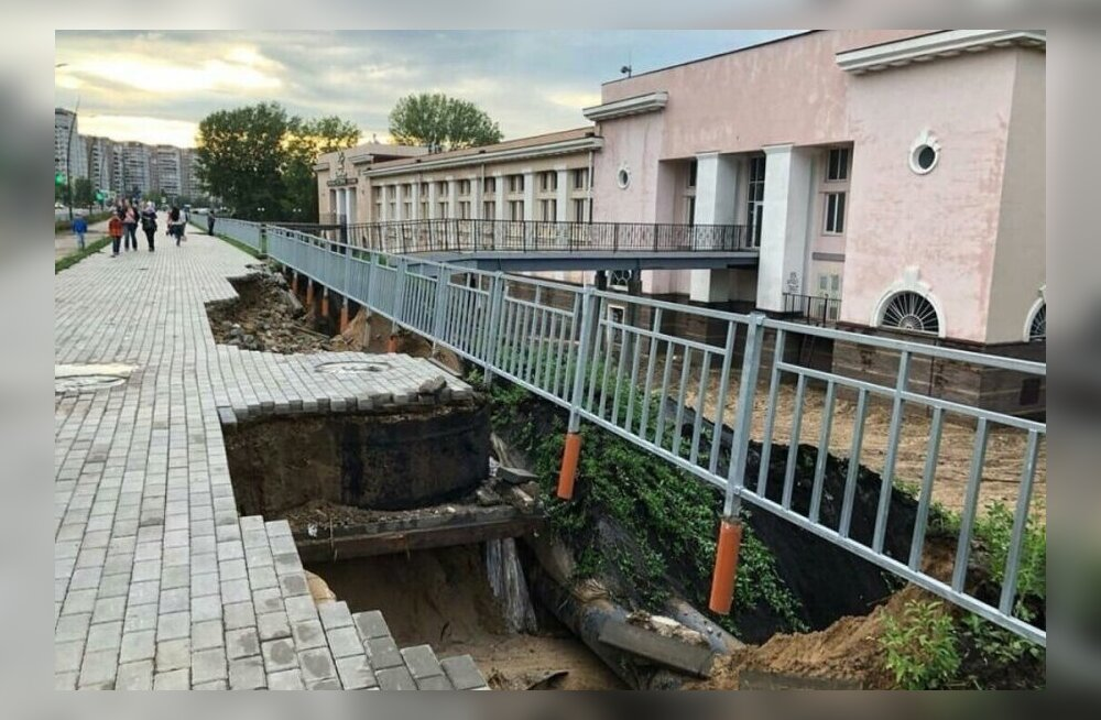 Ehitusvead Nižni Novgorodis.