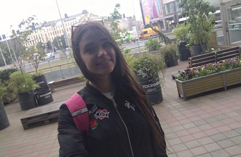 19-летняя жительница Кохтла-Ярве Виолетта вернулась домой: с ней все хорошо