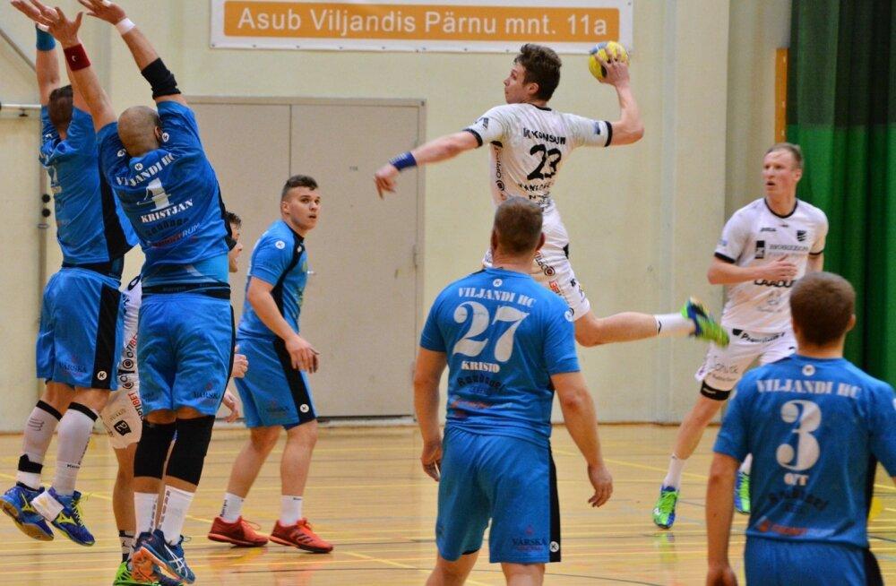 Käsipall Viljandi HC ja HC Kehra