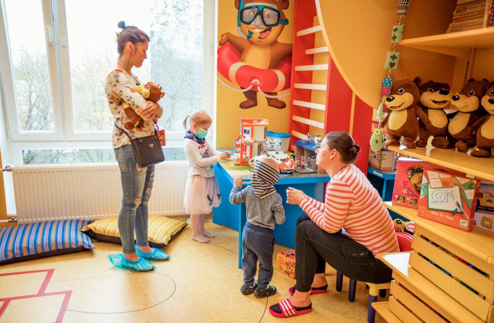 Больные раком дети получили игровую комнату с возможностью проведения физиотерапии