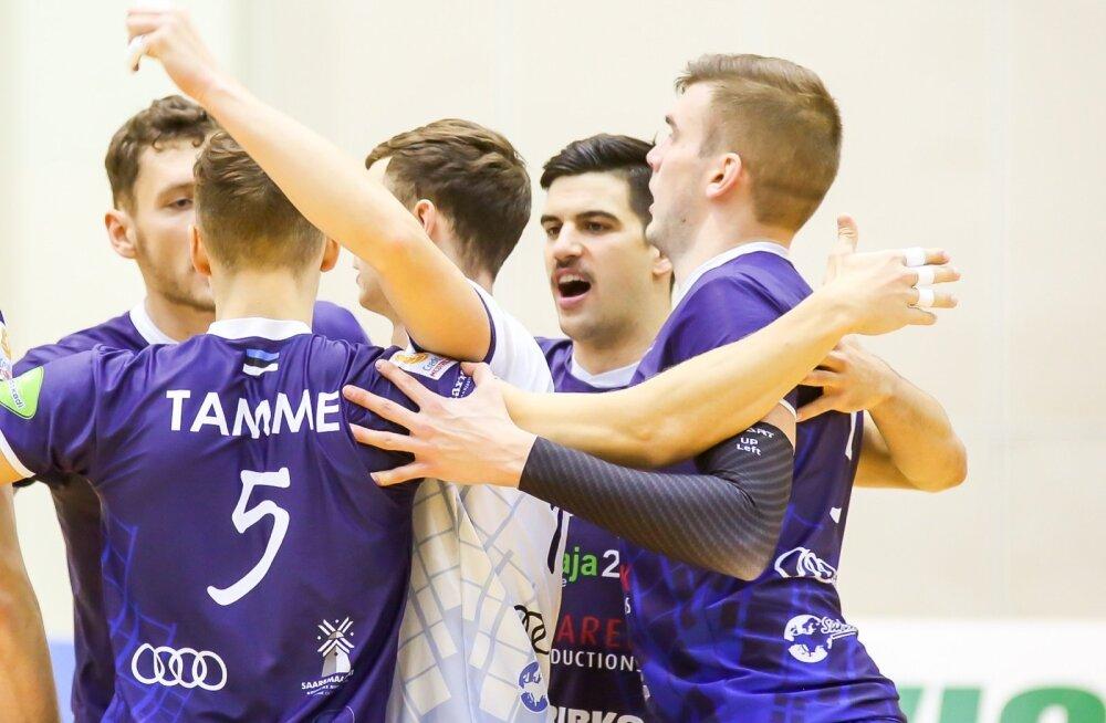 Võrkpall Credit 24 meistriliiga Järvamaa võrkpalliklubi ja Saaremaa VK