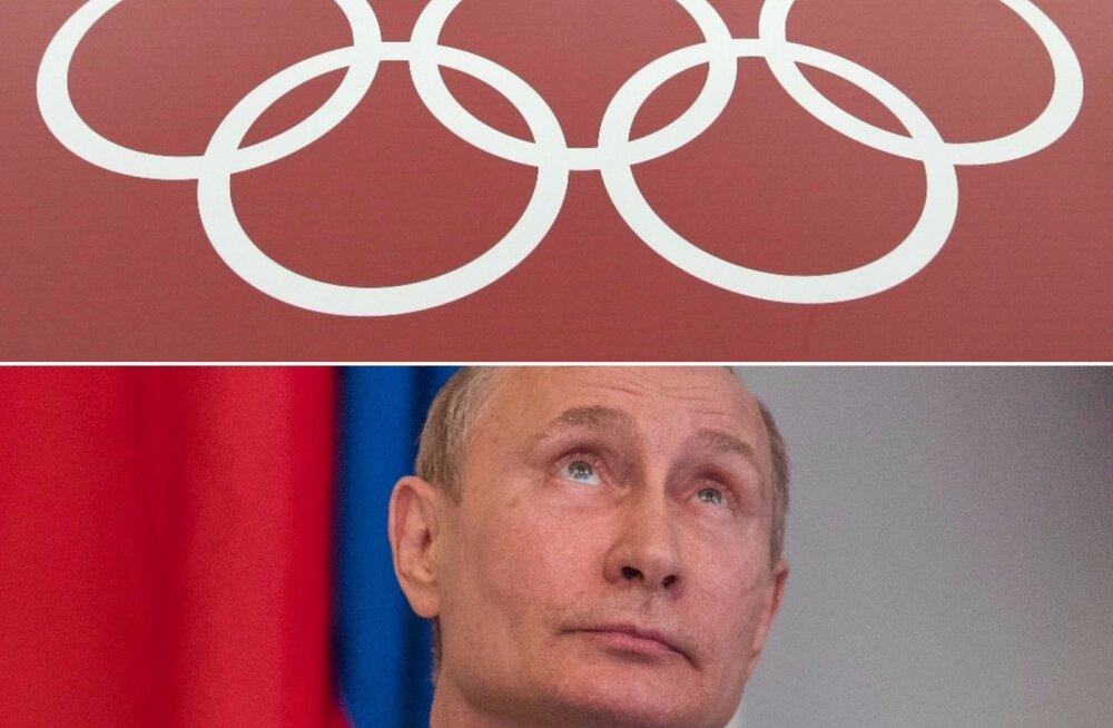 Toomas Alatalu Venemaa olümpialt tõrjumisest: pole kahtlustki, et Kreml täidab olümpiakomitee nõudmised ja tasub trahvid. Ka Putin allub!