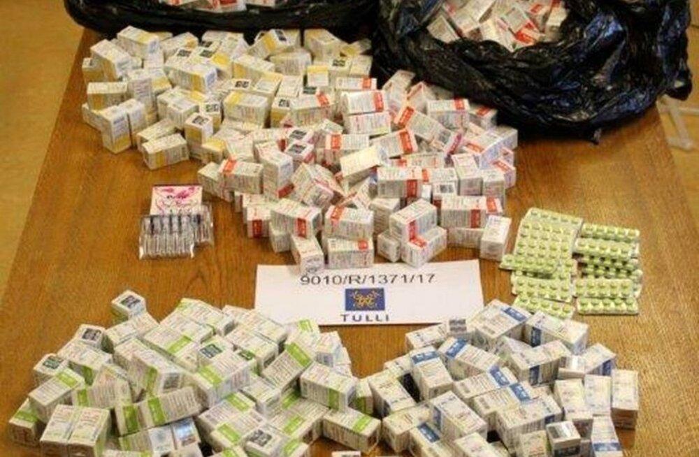 ФОТО: Финские бизнесмены при помощи эстонской фирмы поставляли наркотики
