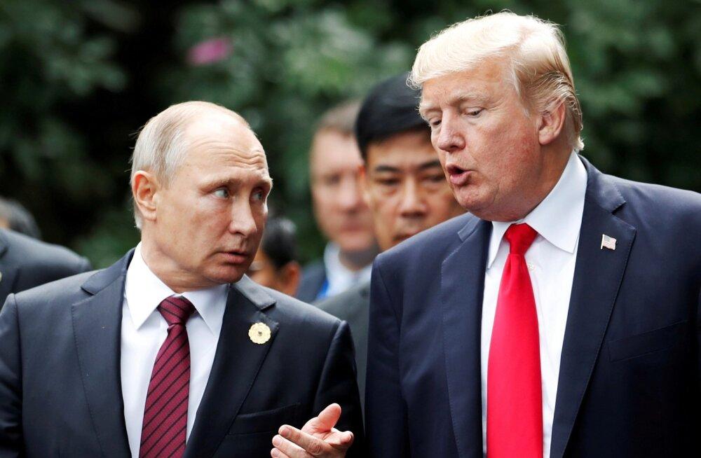 Venemaa ja USA jõudsid kokkuleppele Putini-Trumpi kohtumise aja ja koha üle, mis teatatakse täna