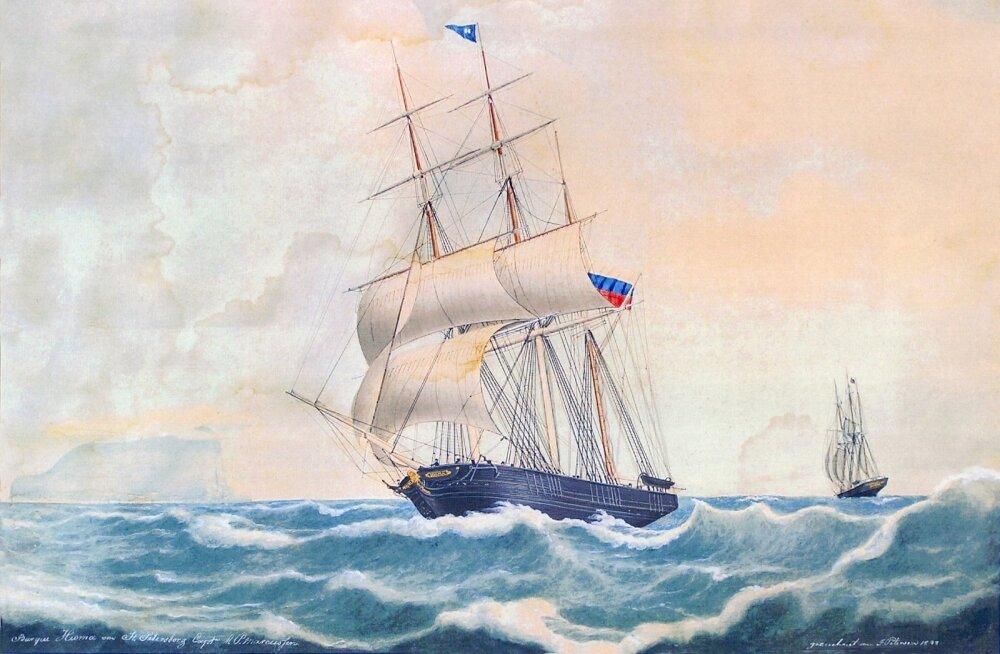Pühalepa kihelkonnas Suursadamas ehitatud kolmemastiline parklaev Hioma seilas maailma meredel küll Vene lipu all, kuid nii laev kui meeskond peale juhtkonna olid ehthiiumaised.