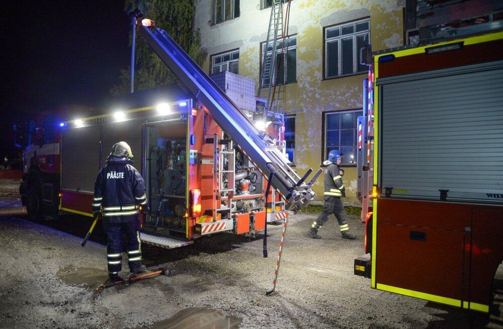 Viljandis põles korter