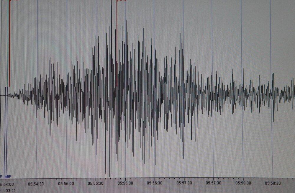 Filipiinidest idas toimus maavärin magnituudiga 6,1
