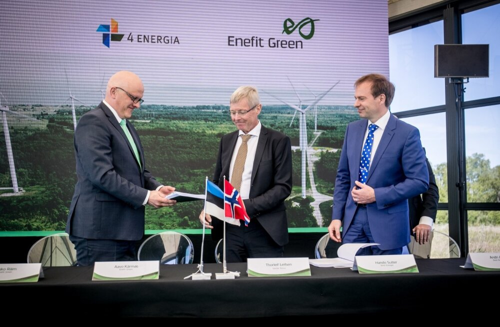 Eesti Energia ostab 4 Energia