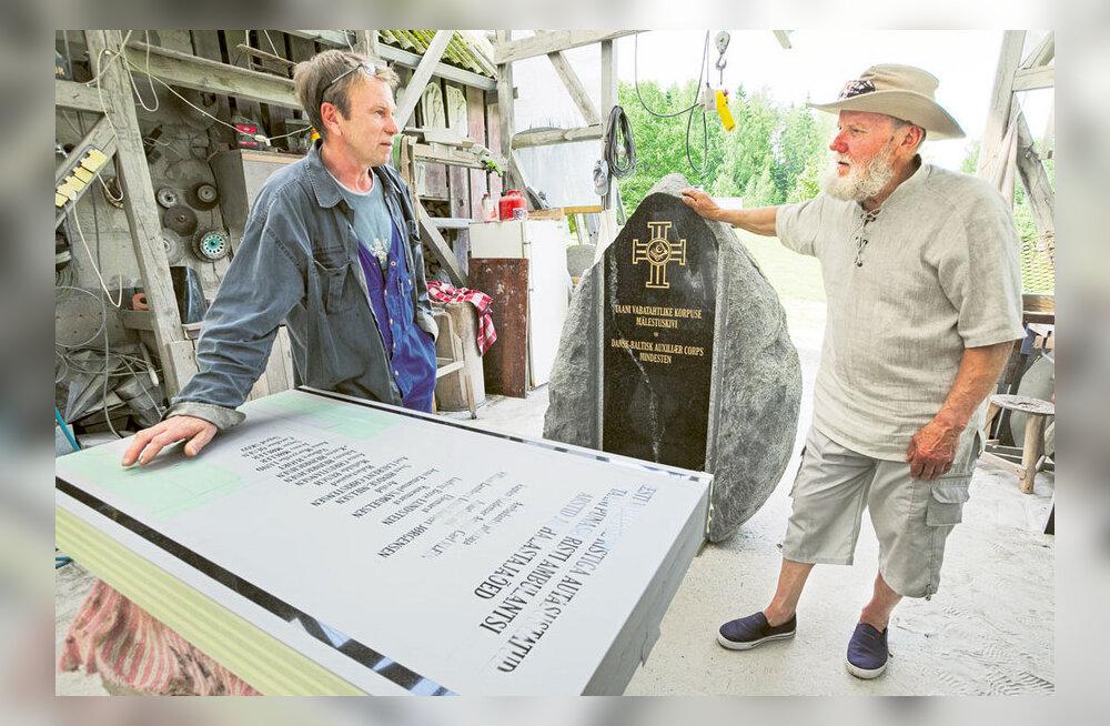 Rõuges avatakse taanlaste mälestuskivi