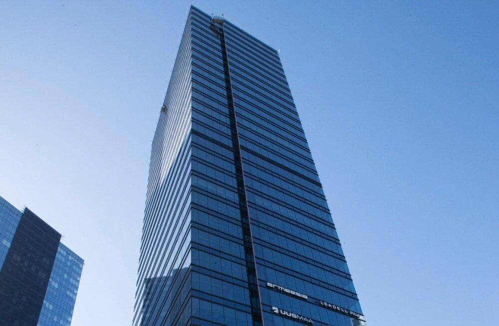 f28eda64918 Maakri kvartali 30-korruseline kõrghoone on Tallinna kõrgeim büroohoone.