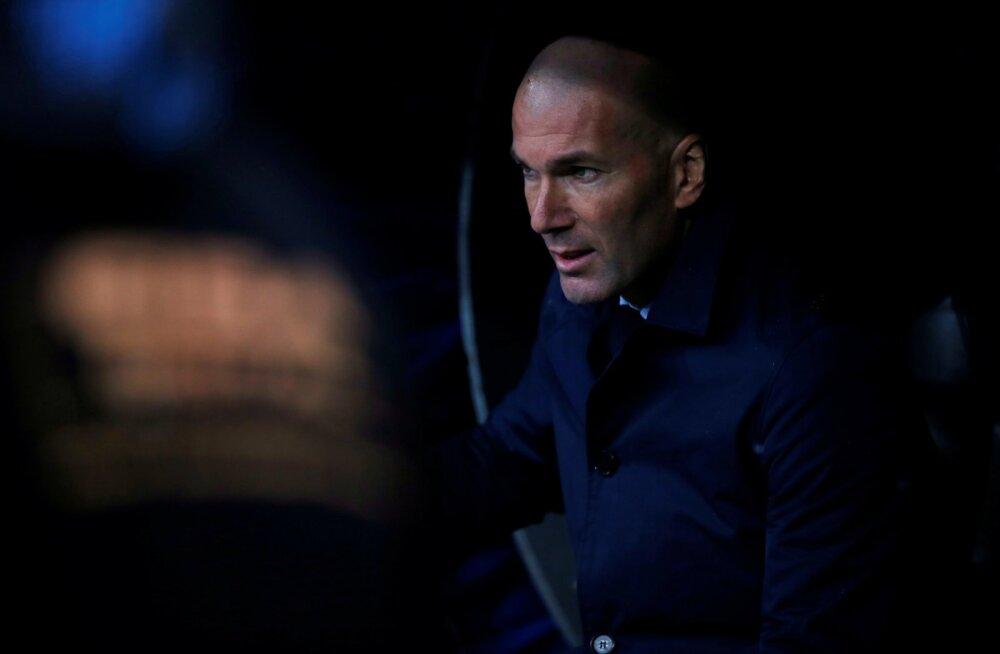 VIDEO | Kas Zidane'i päevad on loetud? Madridi Real sai järjekordse šokk-kaotuse, sedapuhku koduplatsil