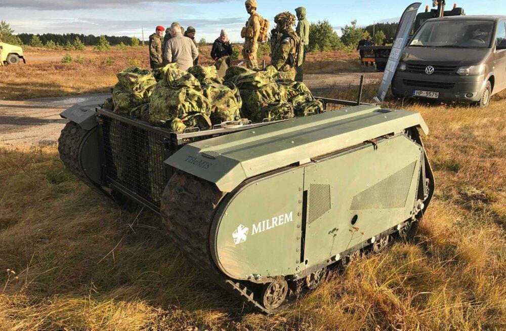 Euroopa kaitsetööstused arendavad mehitamata sõidukeid maal, meres ja õhus. Eestis töötab üht sellist platvormi välja Milrem.