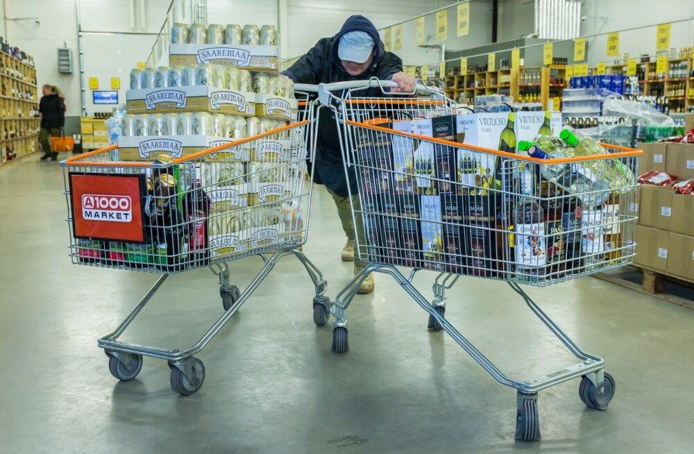 Eestlaste kingitus? Lätis laekus eelmisel aastal alkoholiaktsiisi 28 miljonit eurot rohkem