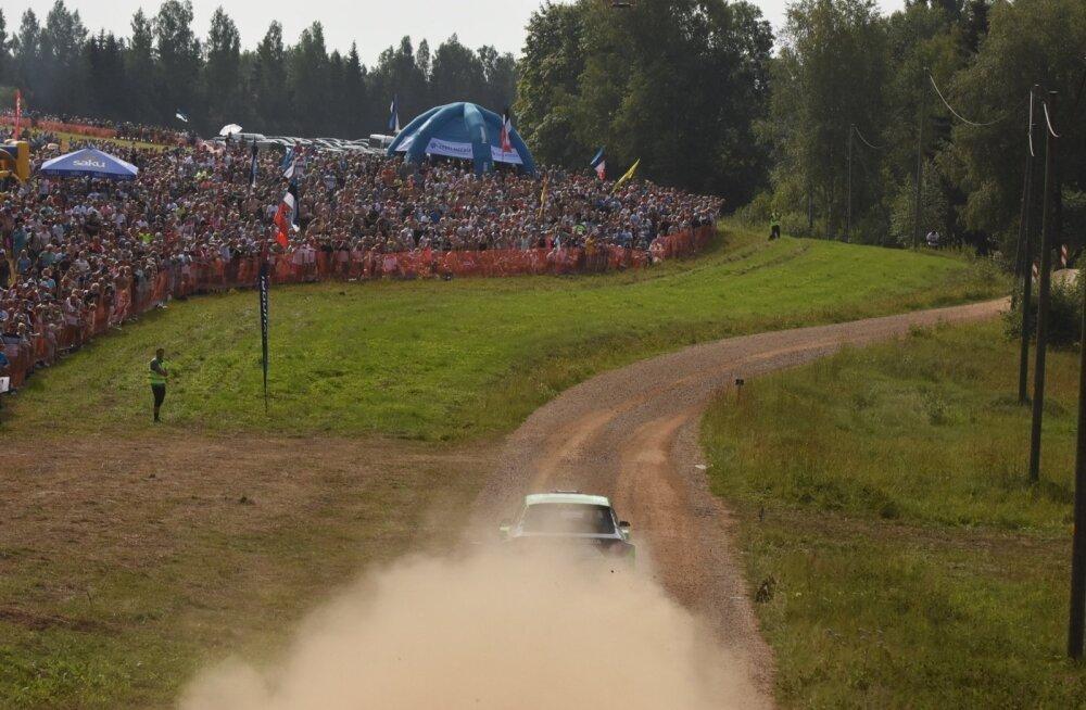 Rally Estonia tõi kokku tohutult publikut.