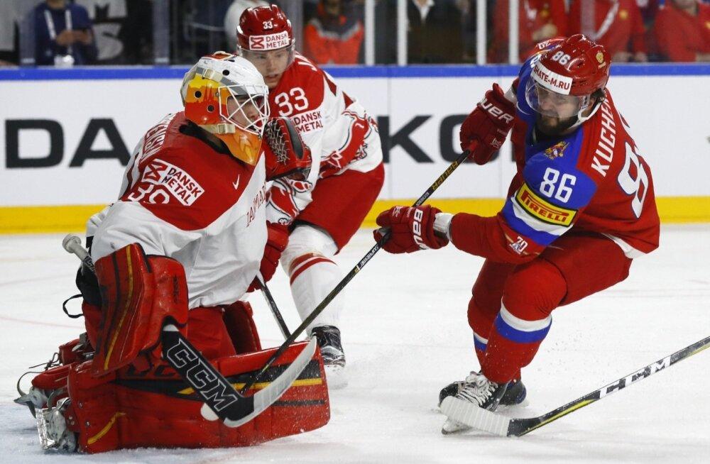 Jäähoki  Venemaa vs Taani