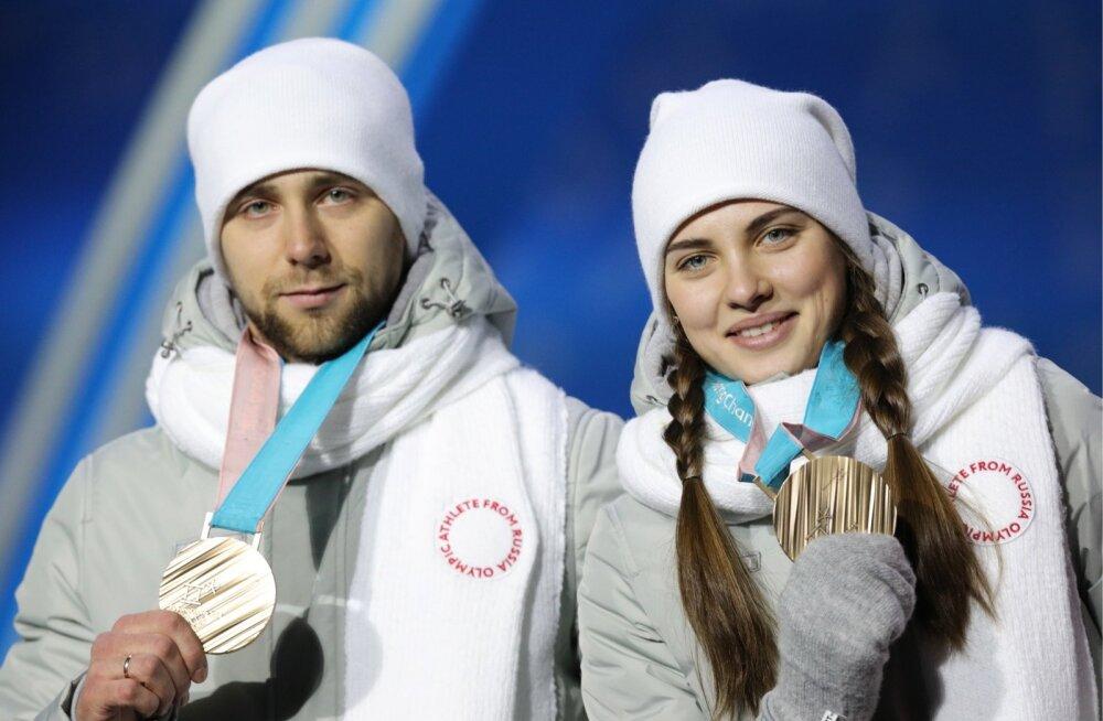 Aleksandr Krushelnitcki ja Anastasia Bryzgalova