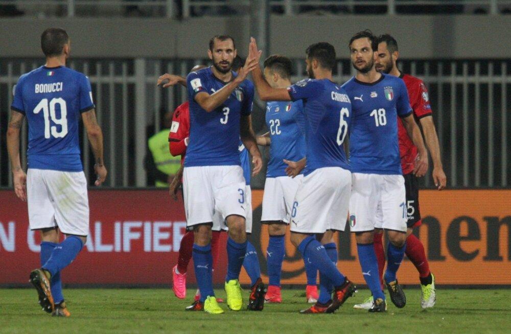 Itaalia jalgpallikoondislased.