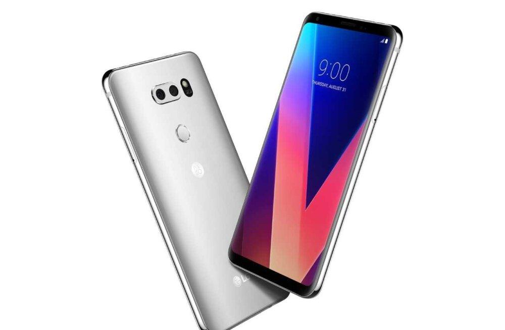 Kas LG lipulaev V30 on siis hämaras pildistamise osas võimekam kui teised telefonid?