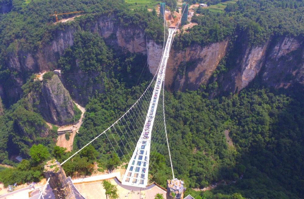 10 kõige ohtlikumat silda maailmas