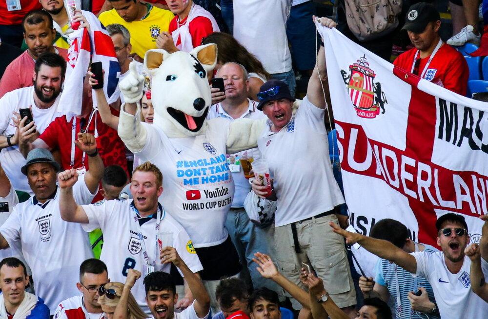 FIFA alustas Inglismaa fännide käitumise osas uurimist