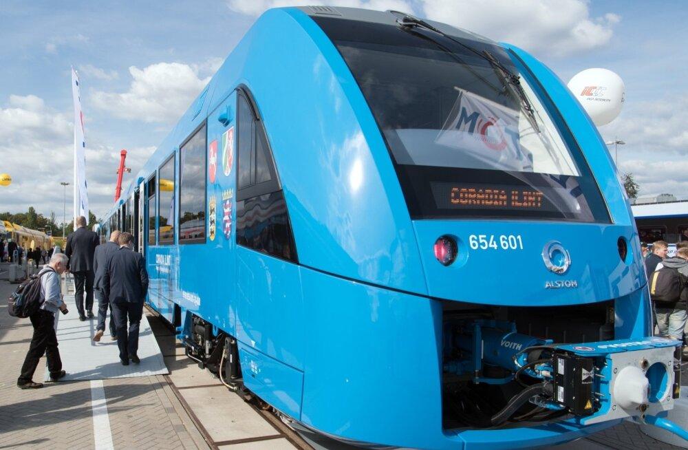 Alstromi vesinikurong eelmisel aastal InnoTransi messil.