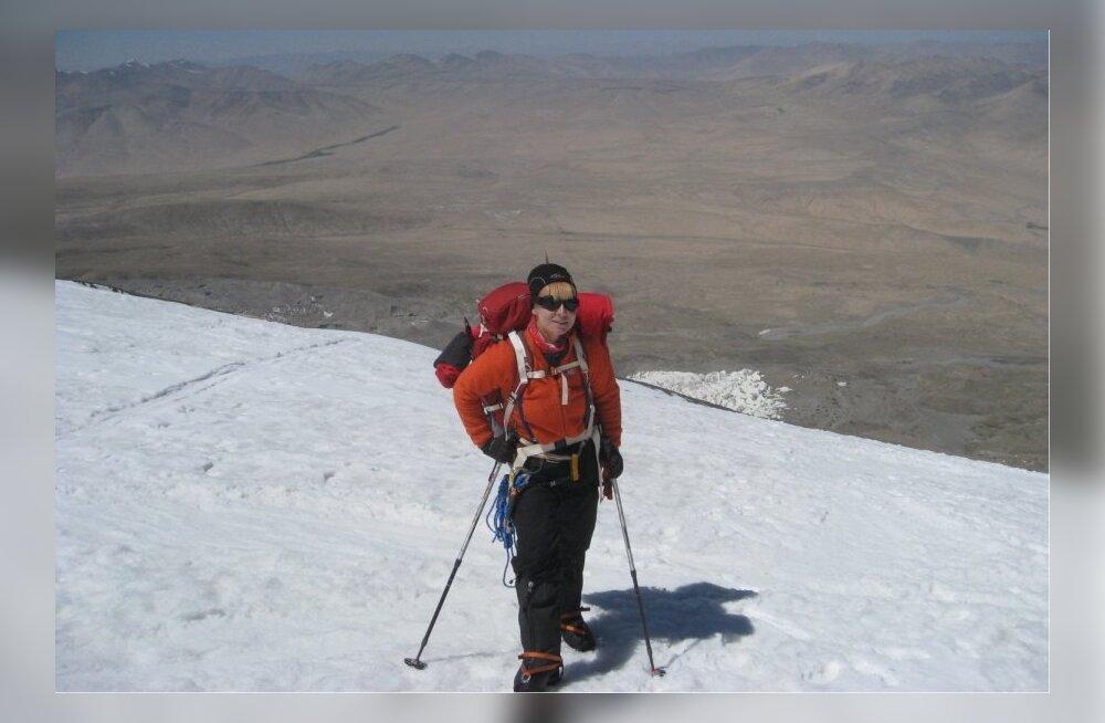 Esimene Eesti naine tõusis 8000 meetri kõrgusele