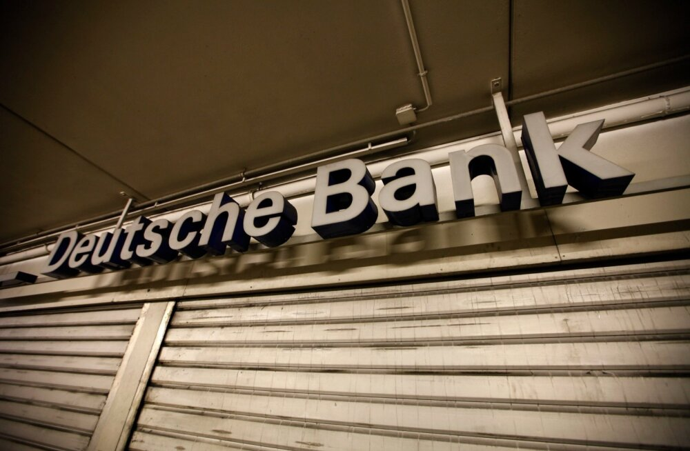 Bloomberg: Danske panga Eesti haru saagas oli oluline roll Deutsche Bankil