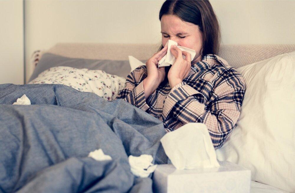 Viirushaigused tuleb läbi põdeda kodus end ravitsedes.