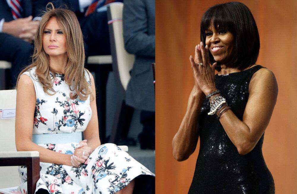 Suurim põhjus, miks Melania Trump ei ole nii populaarne esimene leedi kui Michelle Obama