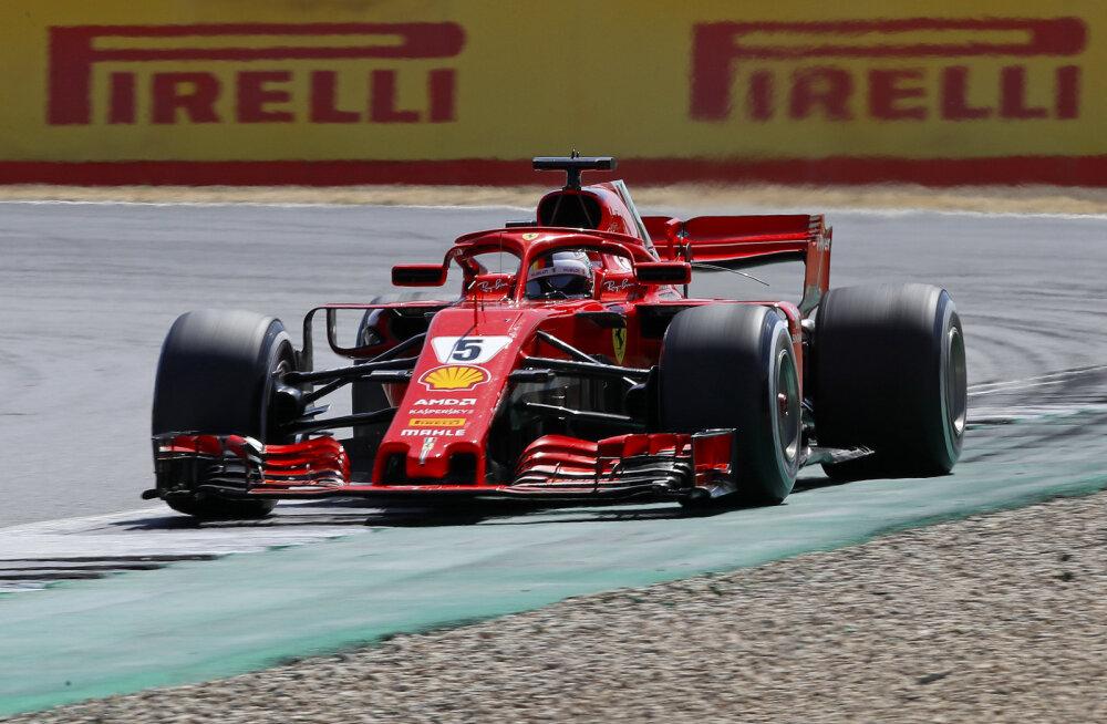 BLOGI | Vettel võitis ülipõneva Briti GP, suurendas üldarvestuses edu Hamiltoni ees