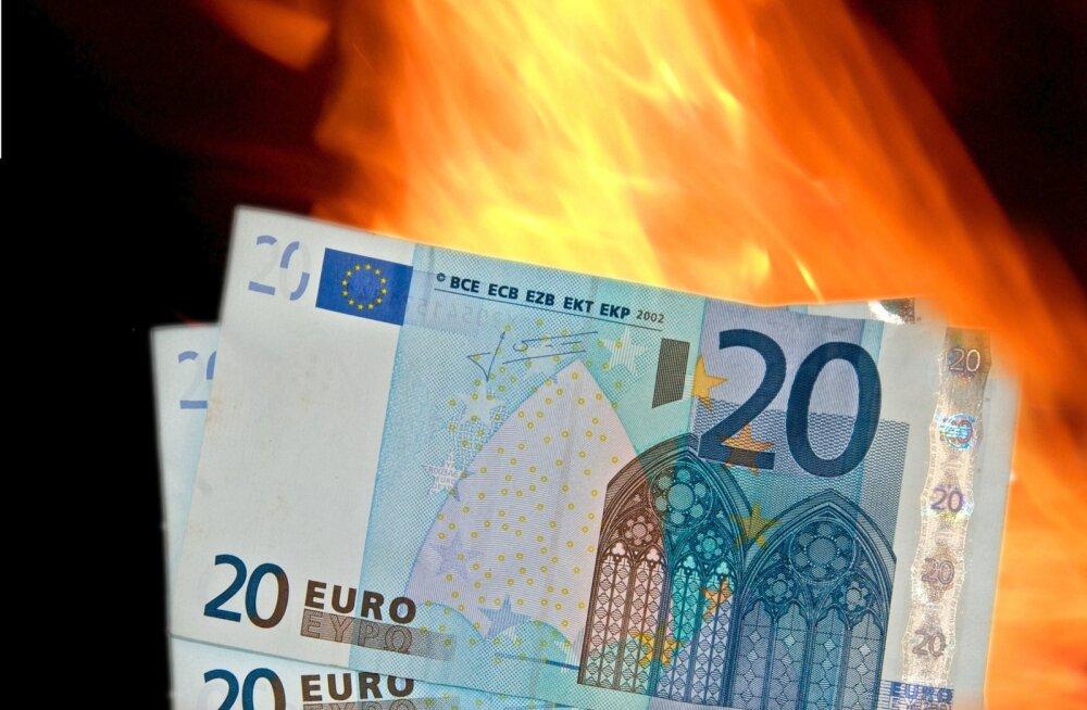 Raha põleb