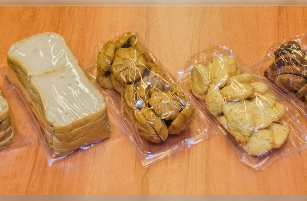 Gluteenivabad tooted: seemnesai, sai, tatraküpsised, seesamiküpsised, šokolaadiküpsised.