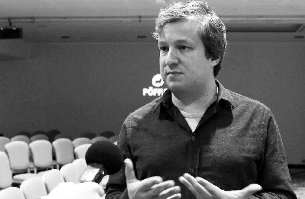 Кинокритик Антон Долин на кинофестивале Pöff