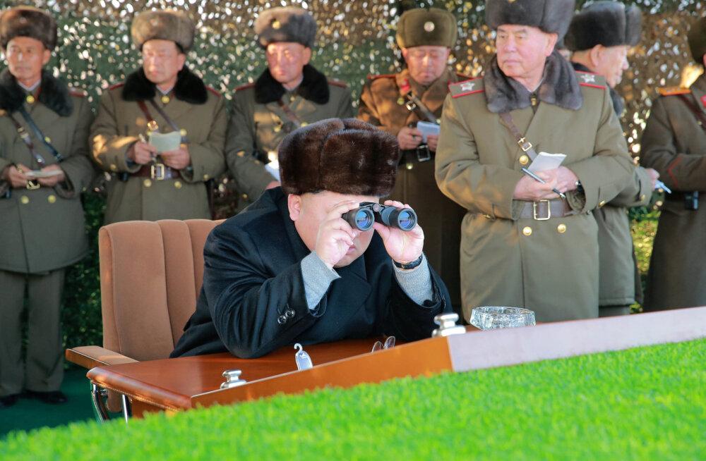 KCNA: Põhja-Korea katsetas edukalt vesinikpommi, mis märgib tuumaarsenali lõplikku valmimist