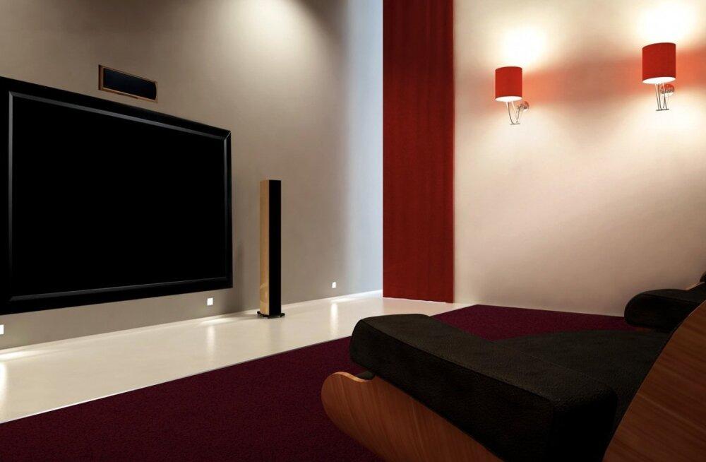 Uuring: Eesti inimesed eelistavad vähemalt 60-tolliseid teleriekraane