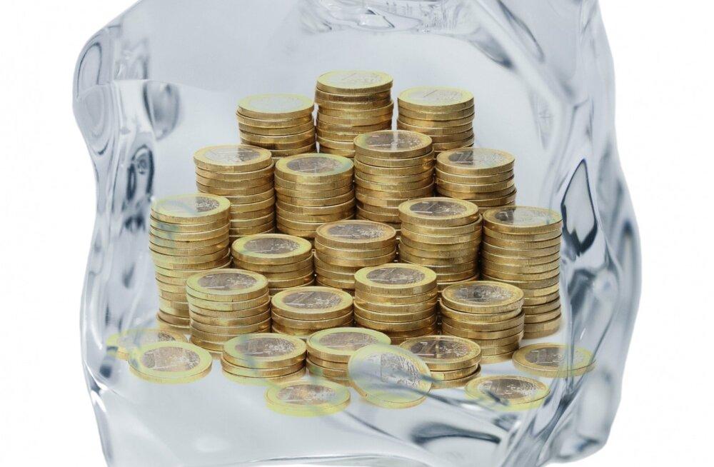 Külmutatud raha