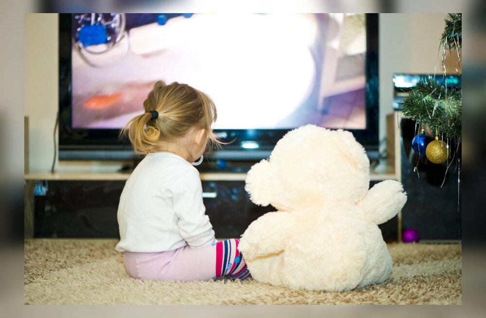Lapsed ja meedia: kui palju tohivad lapsed ekraani ees aega veeta?