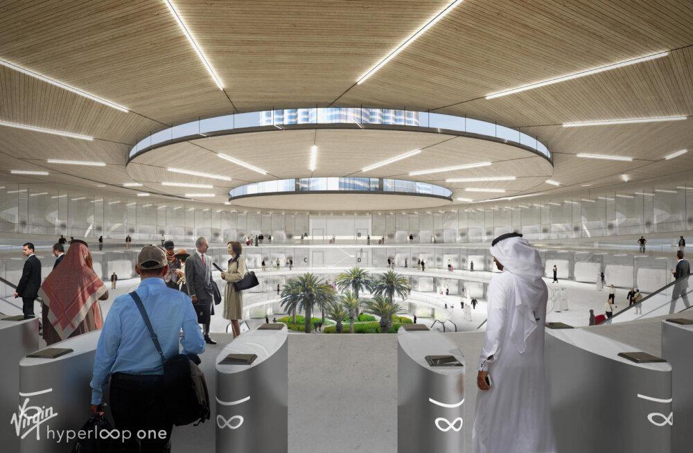 Esimene Hyperloop-liin võib juba mõne aasta pärast Araabia Ühendemiraatides reaalsus olla