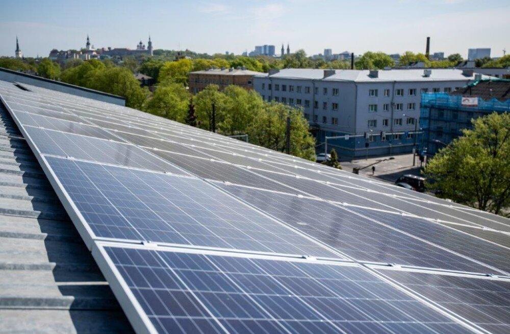 В Таллинне появится электростанция на крыше муниципального здания