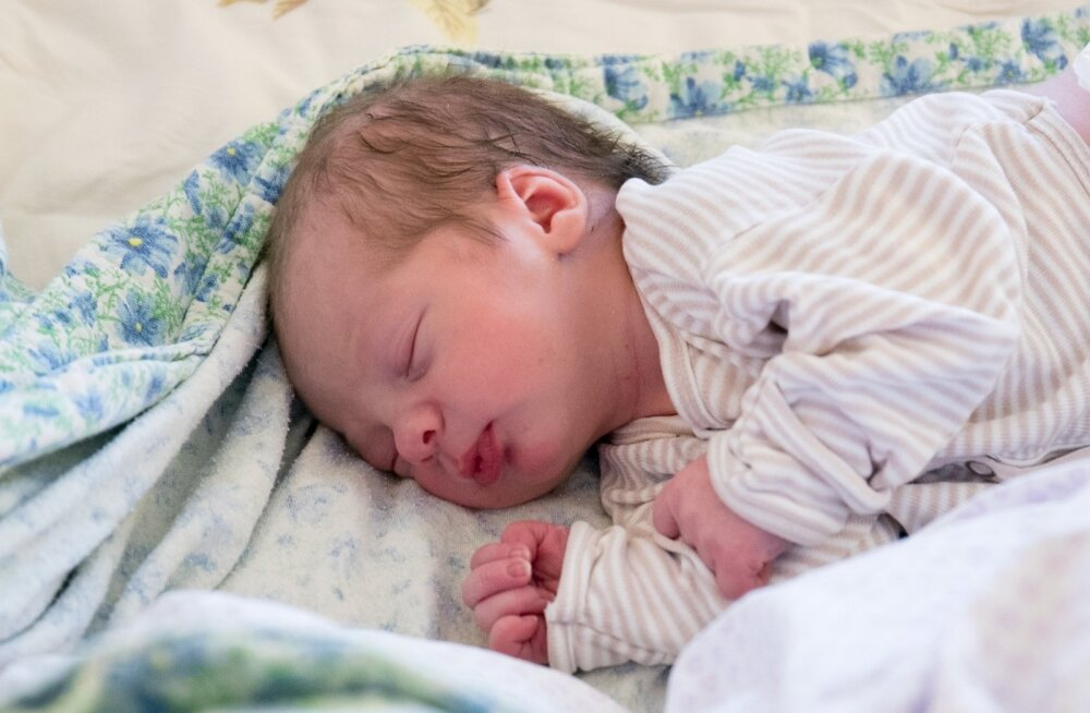 Aastavahetuse beebid Pelgulinna sünnitusmajas