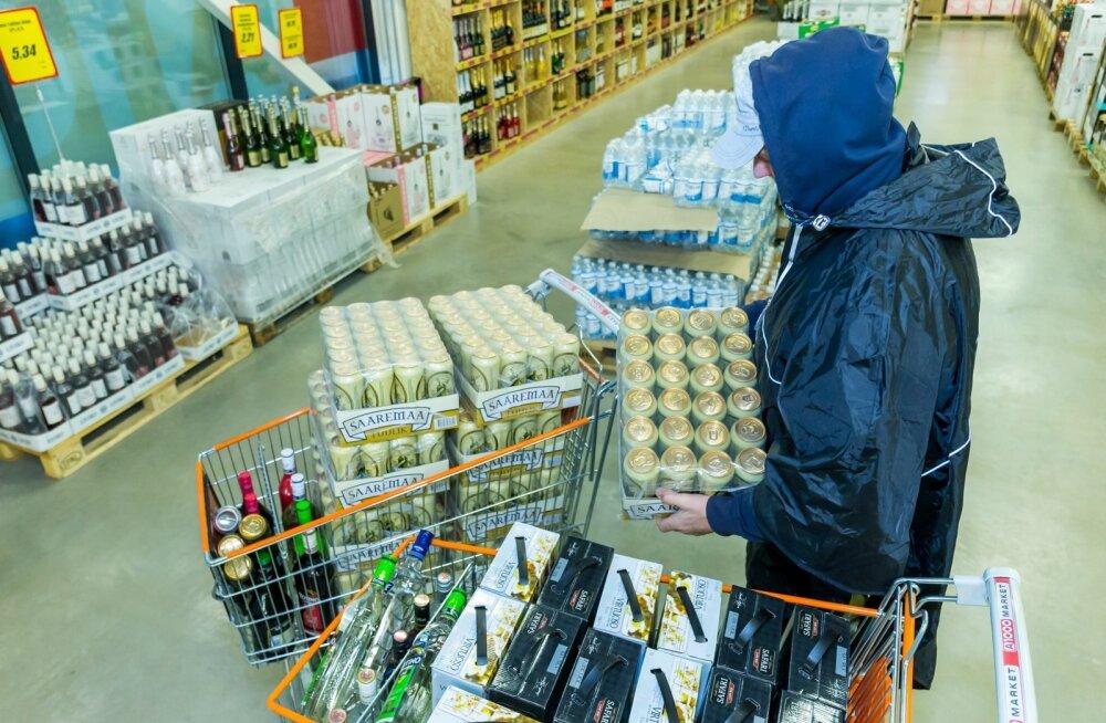 Alkoholikogus, mille võib Lätist sisse tuua