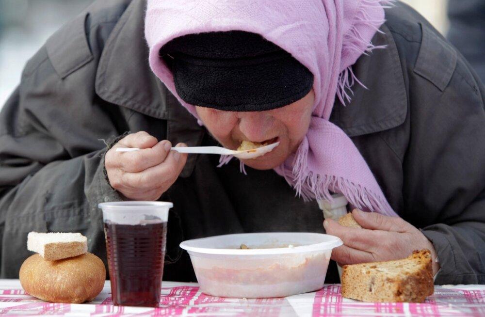 Vaesus Venemaa.