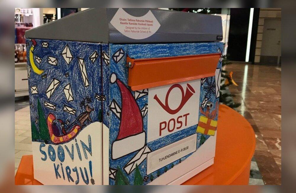 Detsembris saadetakse Eestis ligi miljon kirja ja postkaarti – jõulukaartide saatmine on jätkuvalt populaarne
