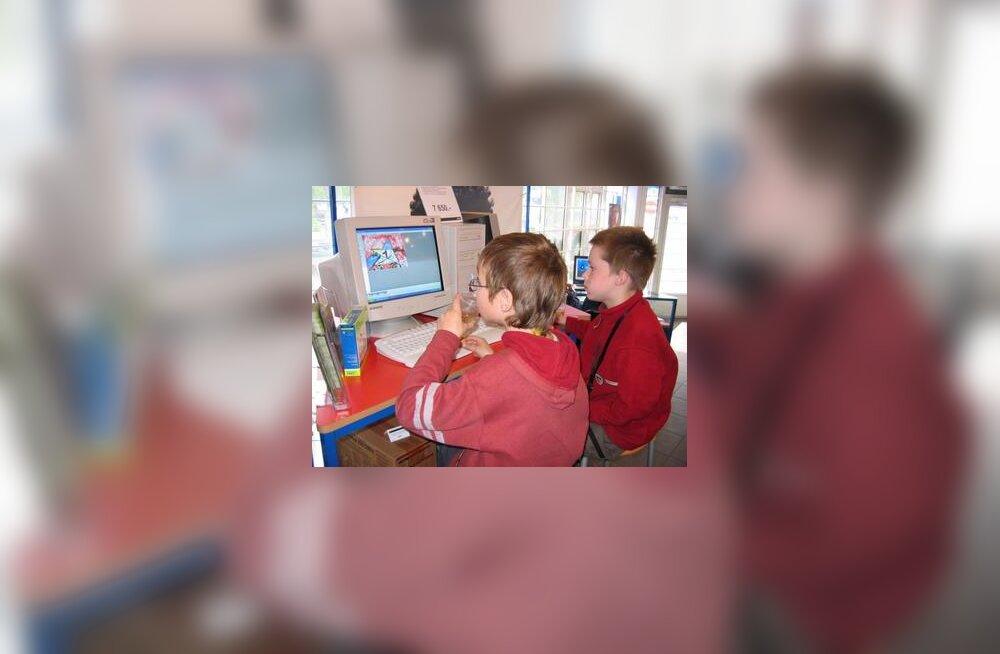 Lapsed ja arvuti