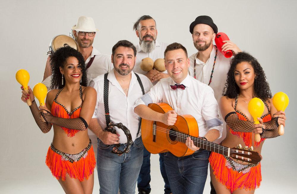 Уникальный ансамбль латиноамериканской музыки Los Nens выступит в Эстонии