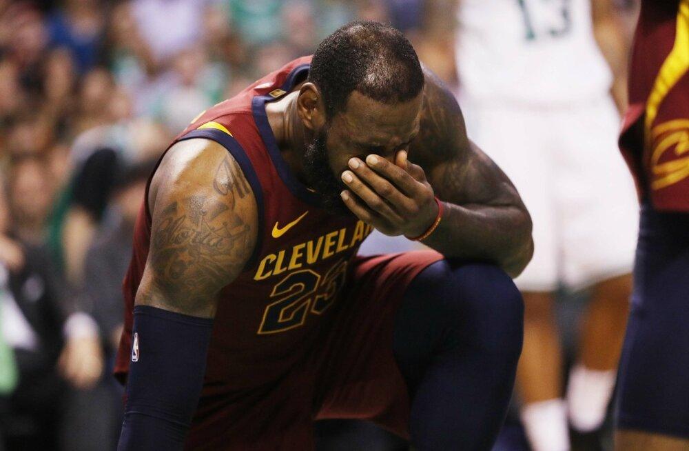 Pettunud LeBron James.